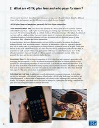 A Look at 401(k) Plan Fees vol 1 Pg.3