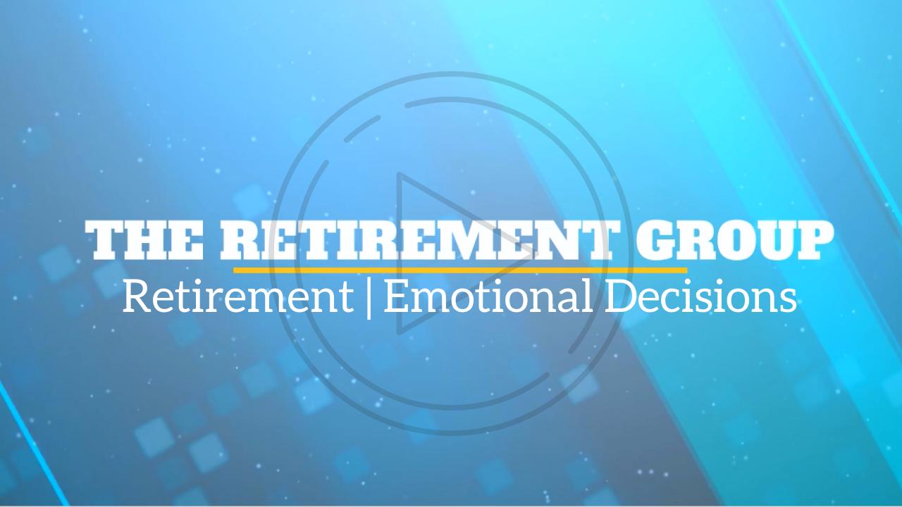 Retirement | Emotional Decisions with Michael Corgiat