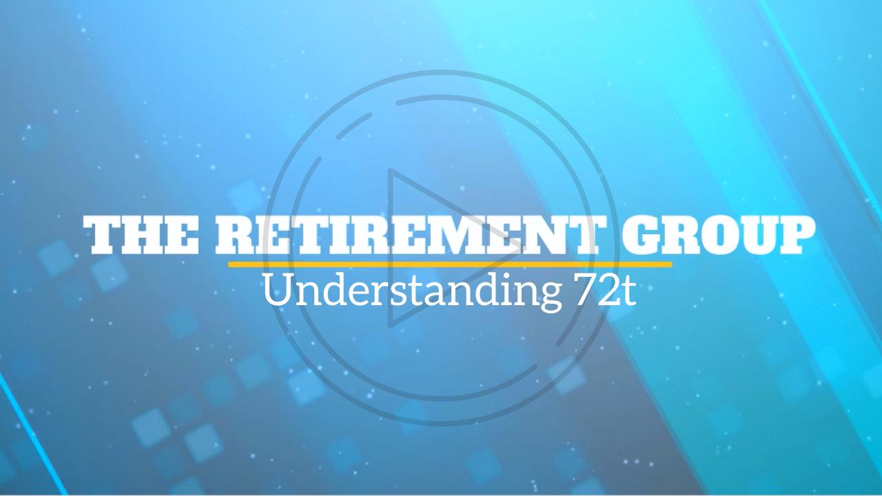 Understanding 72t with Michael Lee
